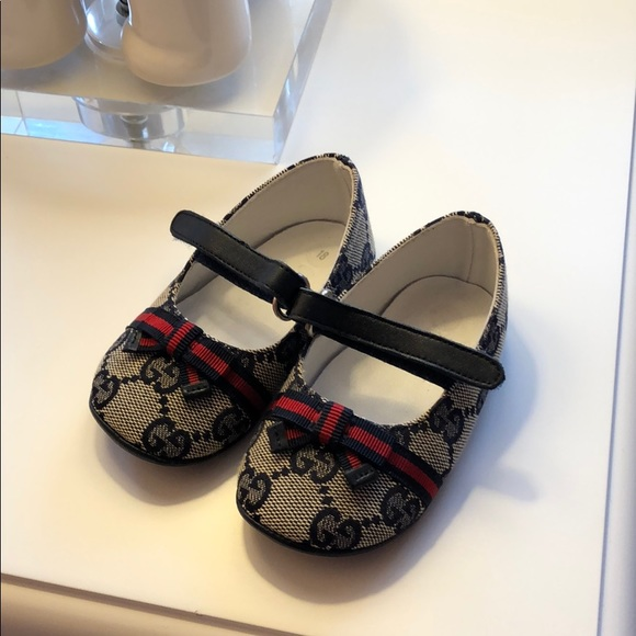 a709b6e19 Gucci Other - Baby Gucci Shoes Size 18 AUTHENTIC ALMOST NEW!
